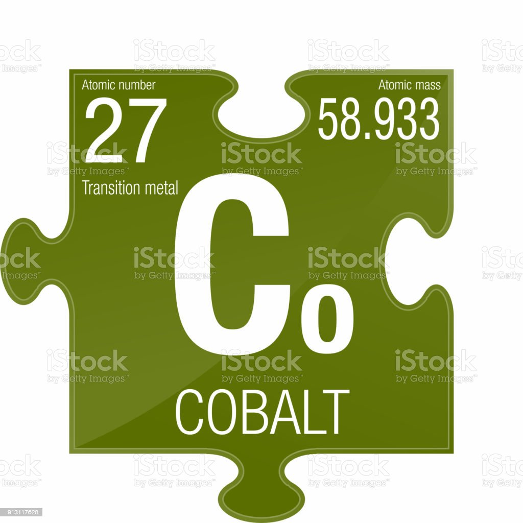 Cobalt Symbol Element Number 27 Of The Periodic Table Of The