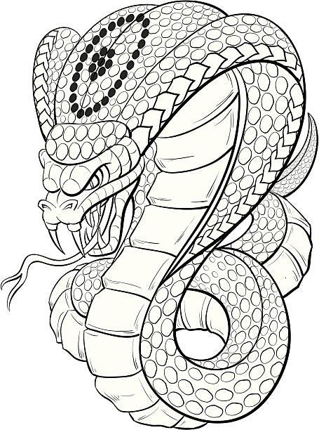 Royalty Free King Cobra Clip Art, Vector Images ...