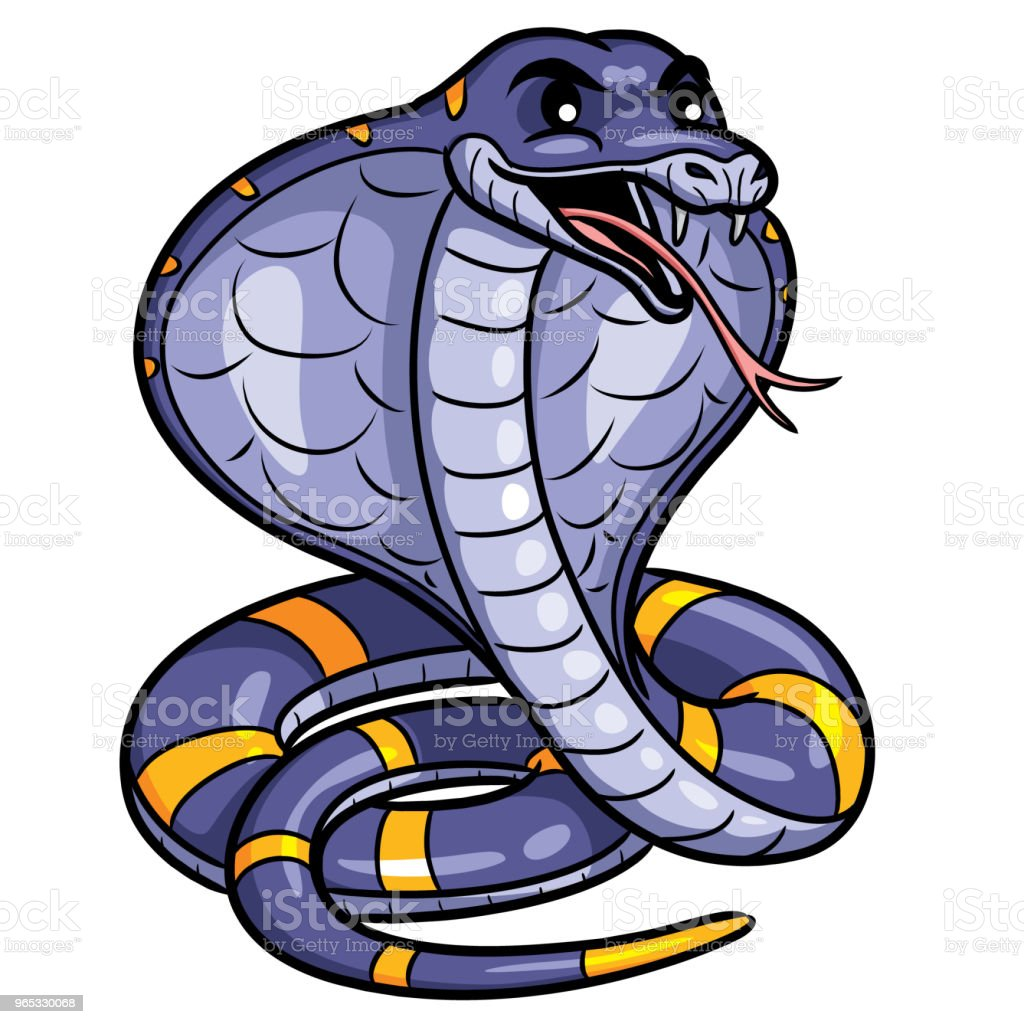 Cobra Cute Cartoon royalty-free cobra cute cartoon stock vector art & more images of anaconda - snake