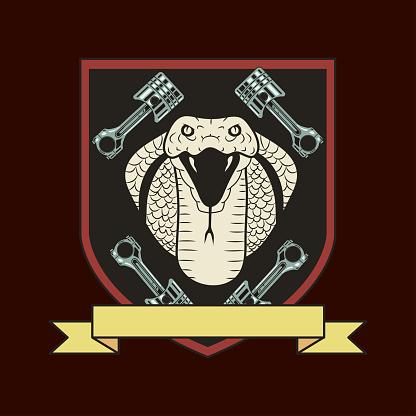 cobra motorbike emblem