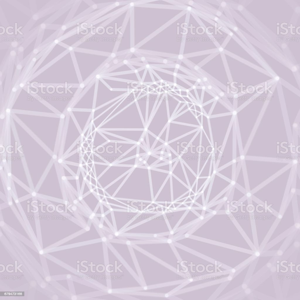 Cobweb or spider web. Network abstract background. Connection Structure. 3D technology style. 免版稅 cobweb or spider web network abstract background connection structure 3d technology style 向量插圖及更多 connect the dots - 英文諺語 圖片