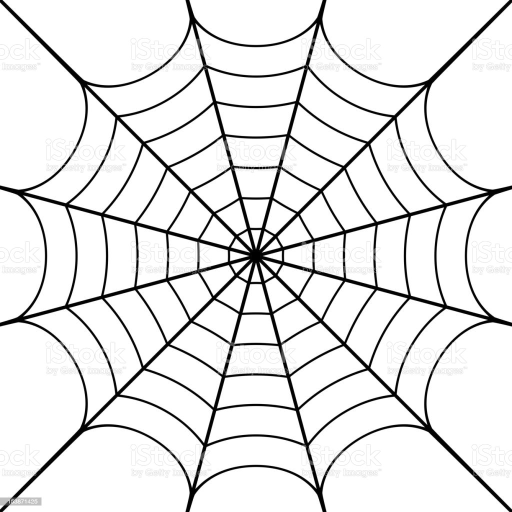 Cobweb Stock Vector Art & More Images of Black Color ...