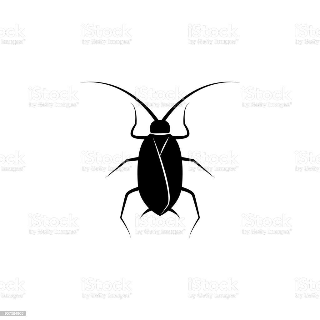 Schabesymbol Elemente Der Welt Der Insektensymbol Fur Konzept Und
