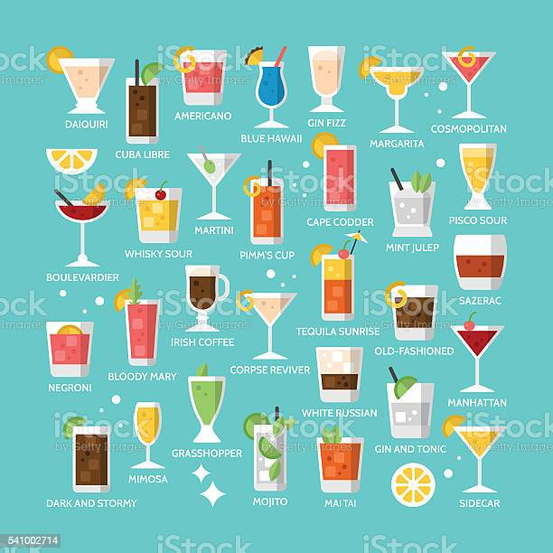 Cocktail alcohol mixed drink icons for menu web and graphic vector id541002714?b=1&k=6&m=541002714&s=612x612&h=yigmypfurl90v0gemnoaj8o2jf6nb9hvv5weufb weo=