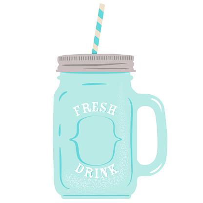 Cocktail Jar glass