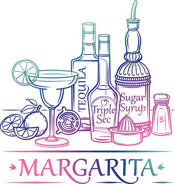 Cocktail Margarita  – Vektorgrafik