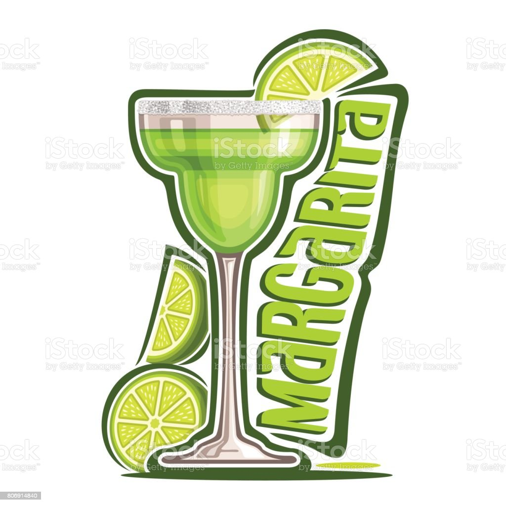 Cocktails Margarita - Illustration vectorielle