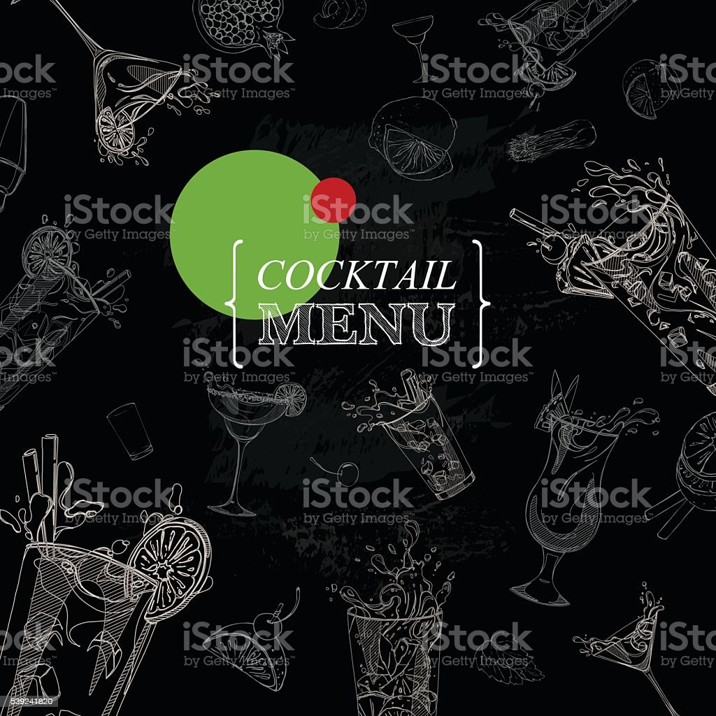 cocktail menu royalty-free cocktail menu stock vector art & more images of alcohol
