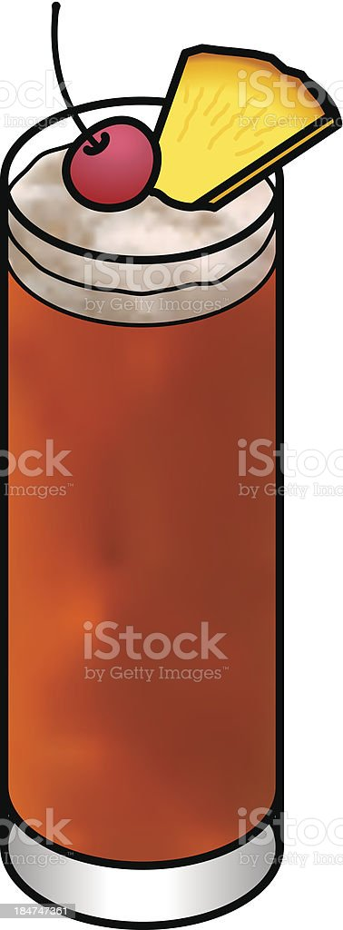 Cocktail royalty-free cocktail stock vector art & more images of aperitif