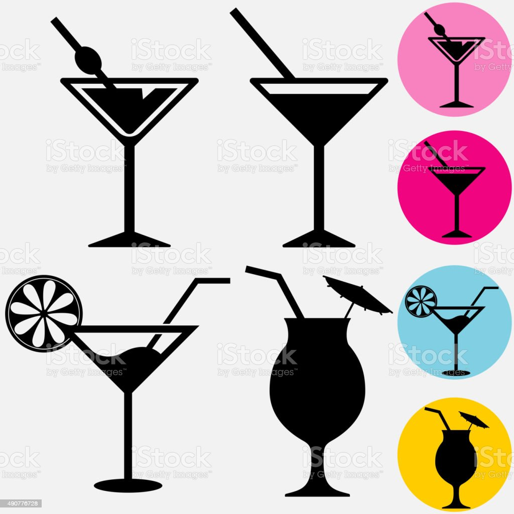 Cocktail Stock Vector Art & More Images of 2015 490776728 ...