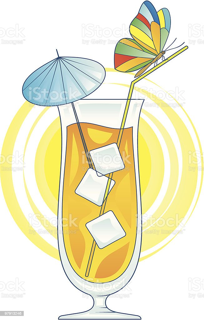 Cocktail vector illustration royalty-free cocktail vector illustration stock vector art & more images of alcohol