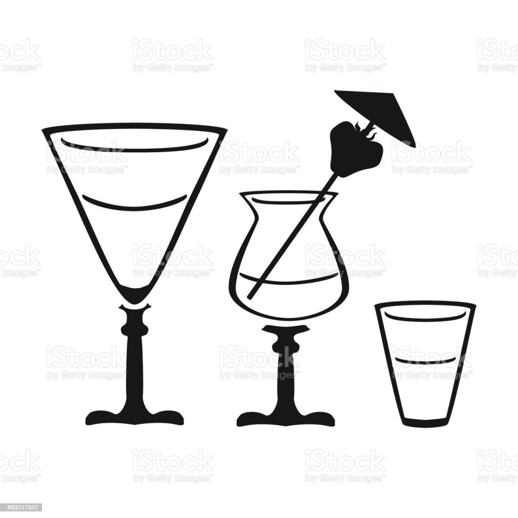 Cocktails icon in black style isolated on white background. Pub symbol stock vector illustration. royalty-free cocktails icon in black style isolated on white background pub symbol stock vector illustration 0명에 대한 스톡 벡터 아트 및 기타 이미지