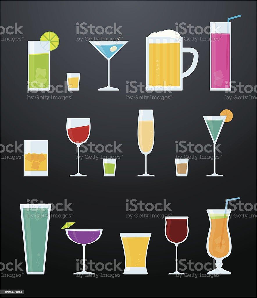 Cocktail - illustrazione arte vettoriale