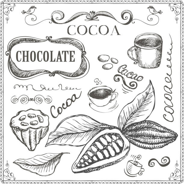 royalty free cocoa clip art vector images illustrations istock