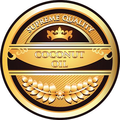 Coconut Oil Gold Label