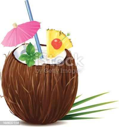 istock Coconut Pina Colada 165637158
