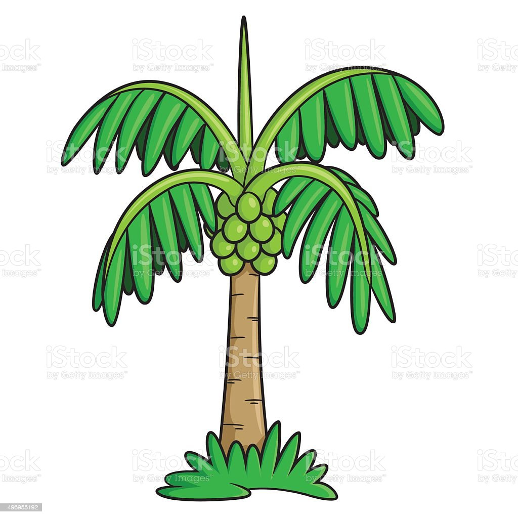 Coconut Tree Cartoon Stock Vector Art & More Images of 2015 ...
