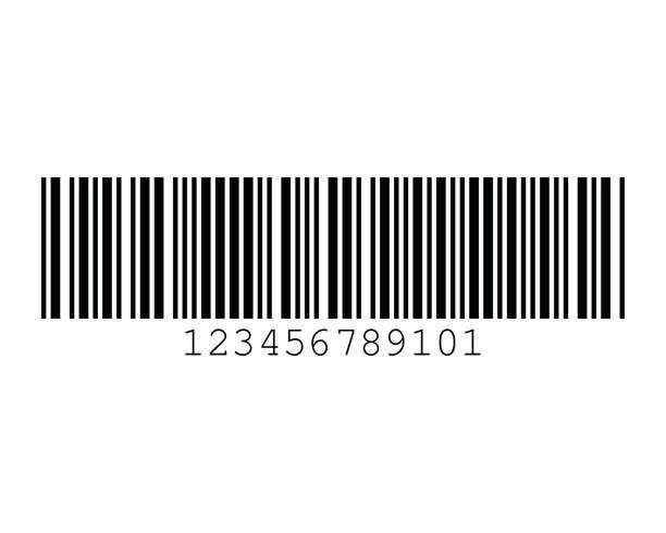 Code 11 Barcode Standard Sample vector art illustration