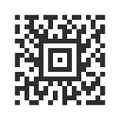 QR Code Abstract - Stock Vector Illustration