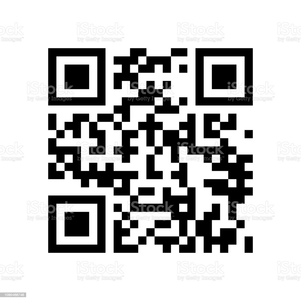 Qr Code Abstract Vector Modern Bar Code Sample For