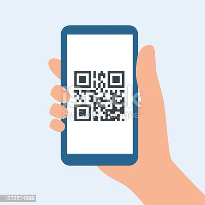 istock QR code for leaving the house during covid-19 quarantine. Preventive measures for coronavirus 1223524899
