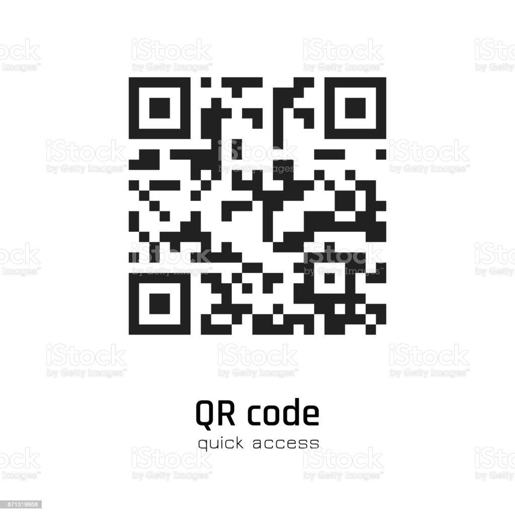 QR code for smartphone scanning
