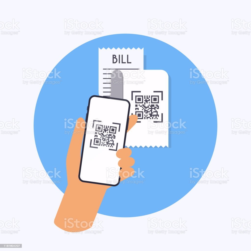 Barcode Verification qr code verification scan qr code to mobile phone from bill