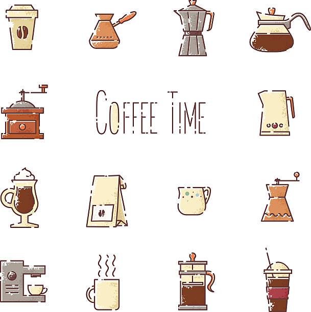 ilustrações de stock, clip art, desenhos animados e ícones de cofee - café solúvel