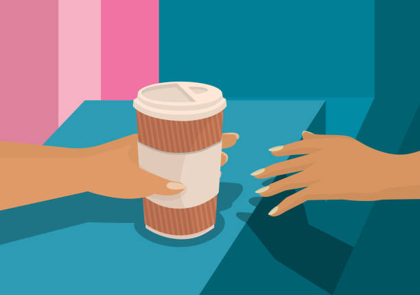 Coffe to Go vector art illustration