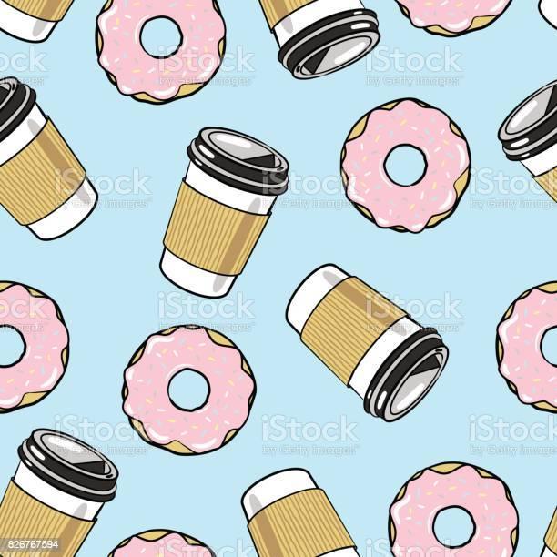 Coffee and donuts seamless vector pattern vector id826767594?b=1&k=6&m=826767594&s=612x612&h=qruoyviyqfvsvoedghpu6mfy ci mi428lalahhylr8=