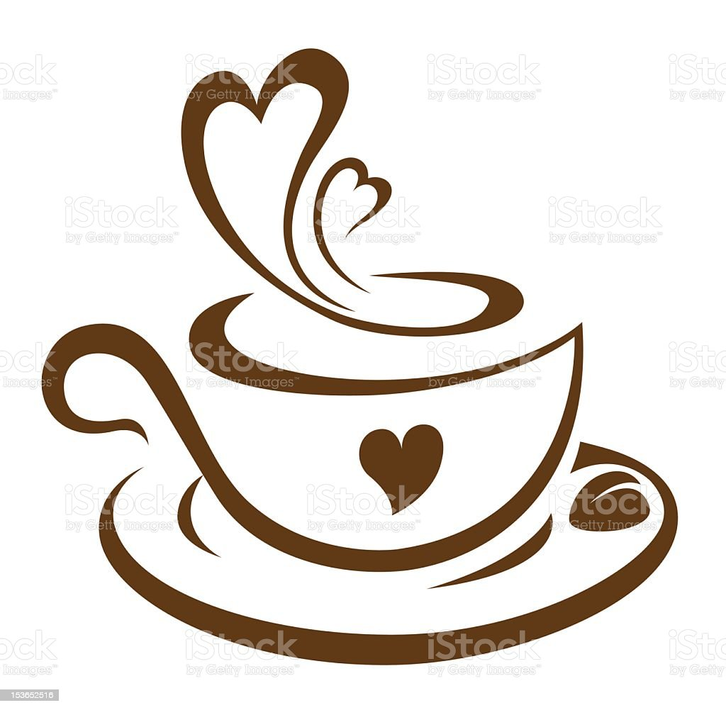 Download Coffee And Love Stock Illustration - Download Image Now ...