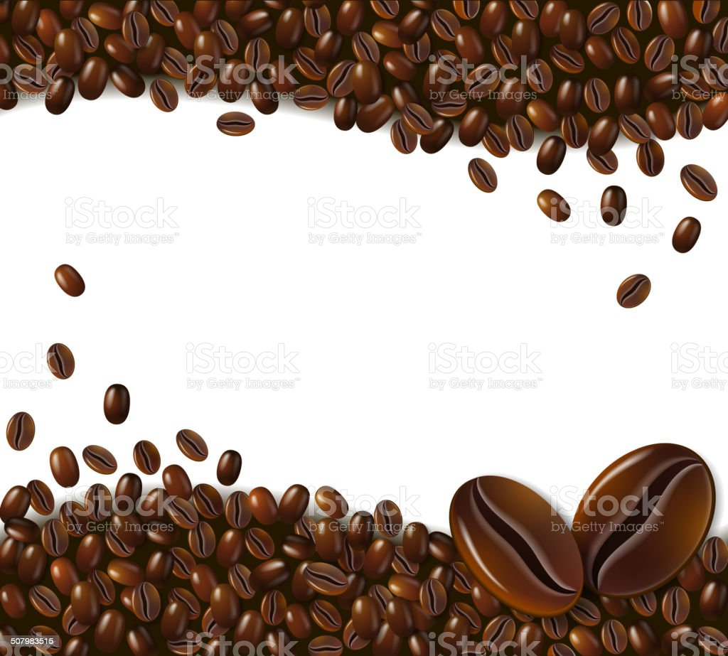 royalty free roasted coffee bean clip art vector images