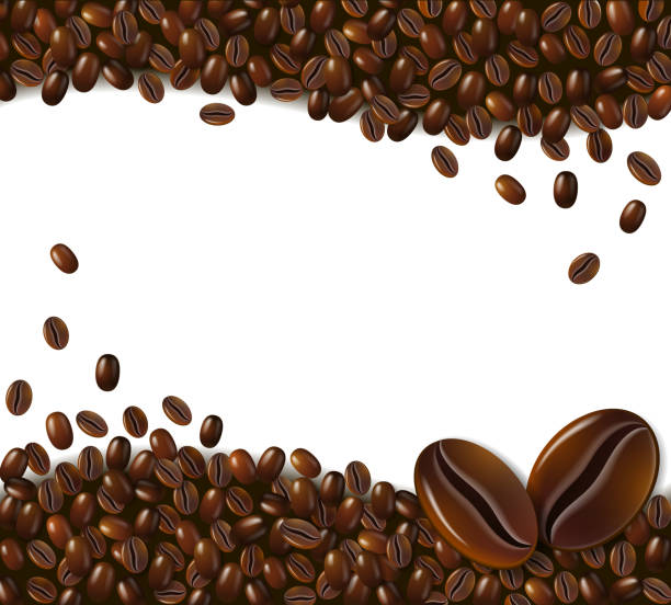 Royalty Free Roasted Coffee Bean Clip Art, Vector Images ...