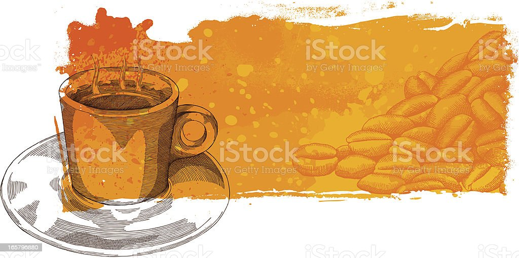 Coffee banner royalty-free coffee banner stock vector art & more images of abstract