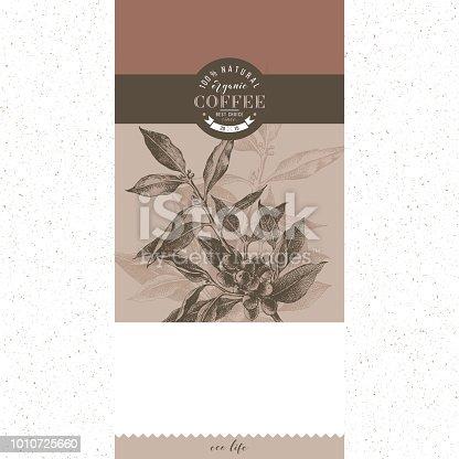 istock Coffee banner vector template 1010725660