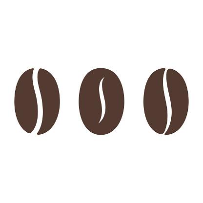 Coffee Bean Icon.