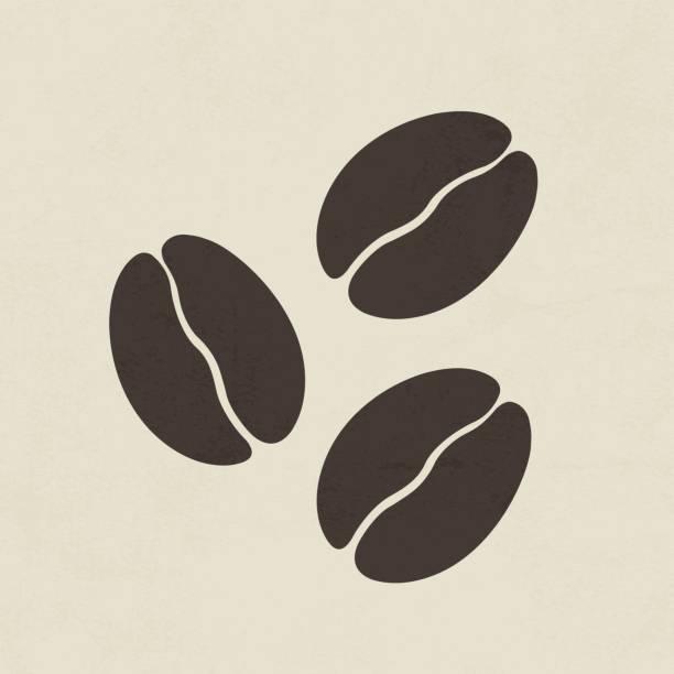 커피 원두 아이콘크기 - coffee stock illustrations