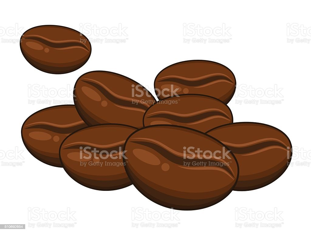 royalty free raw green coffee beans clip art vector images rh istockphoto com coffee bean clipart free coffee bean clipart free