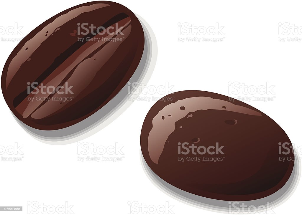 Coffee Beans royalty-free coffee beans stock vector art & more images of addiction