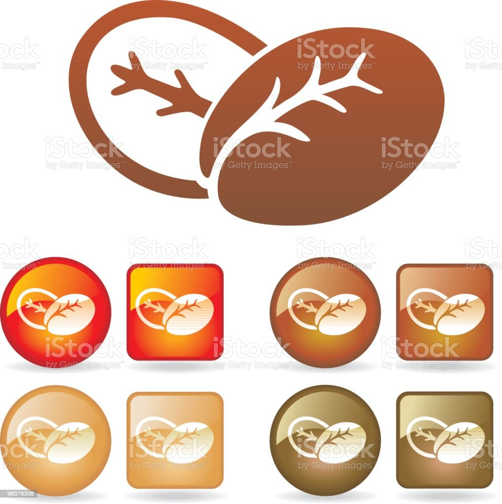 Coffee Beans royalty-free coffee beans stock vector art & more images of back lit