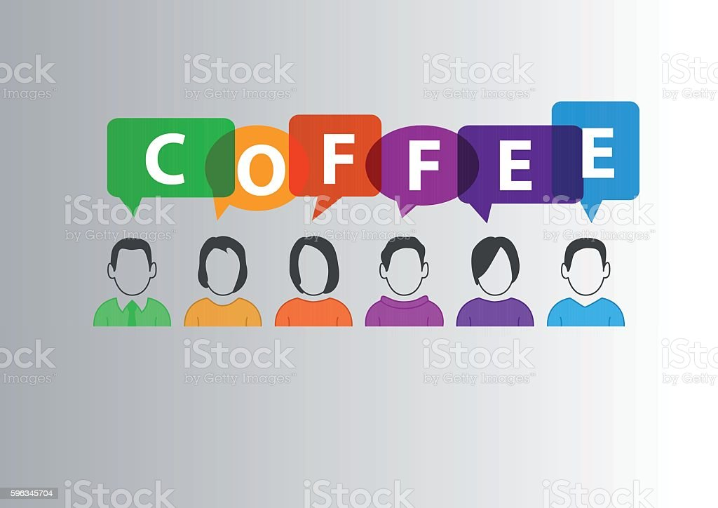 Coffee break concept as background to be used as template royalty-free coffee break concept as background to be used as template stock vector art & more images of abstract