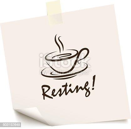 coffee break mensagem
