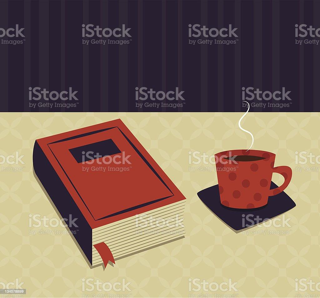 Coffee break royalty-free coffee break stock vector art & more images of book