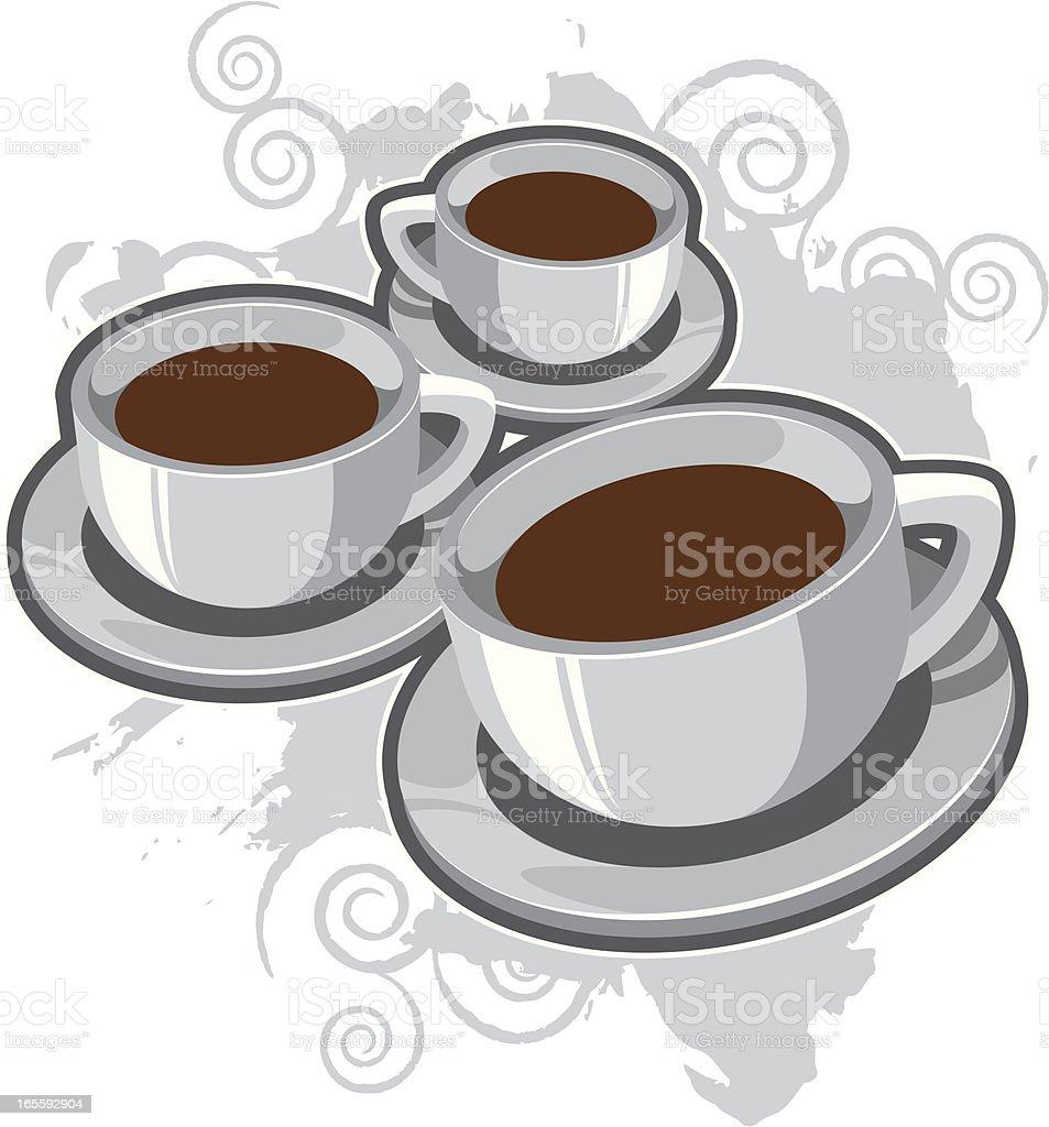 coffee bunch royalty-free stock vector art