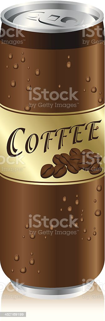 coffee cans Set Vector royalty-free stock vector art