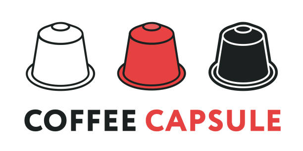 Coffee Pods Illustrations, Royalty-Free Vector Graphics ...