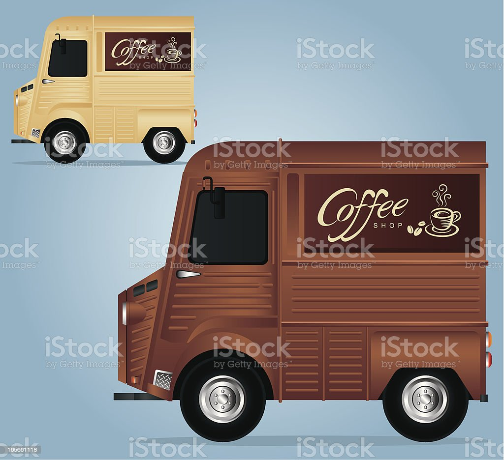 Coffee Car royalty-free coffee car stock vector art & more images of car