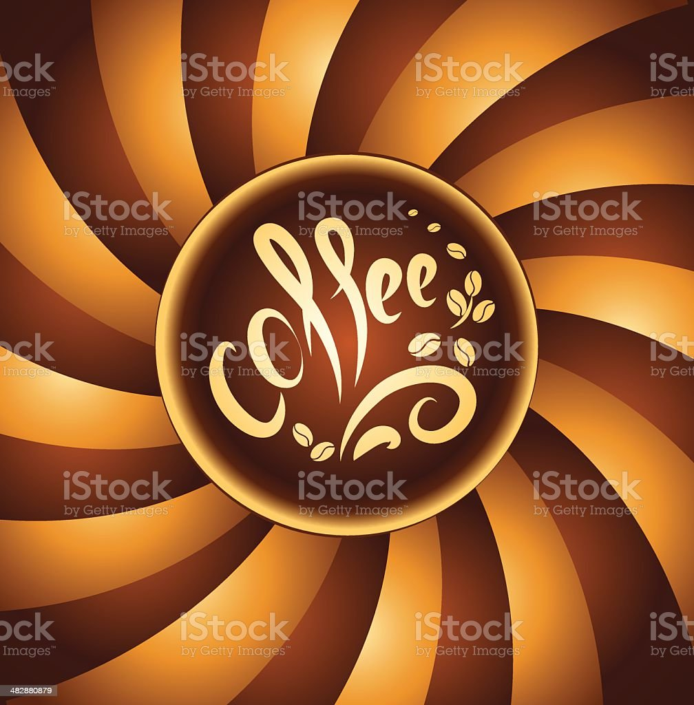 coffee cup. bean coffee royalty-free coffee cup bean coffee stock vector art & more images of arranging