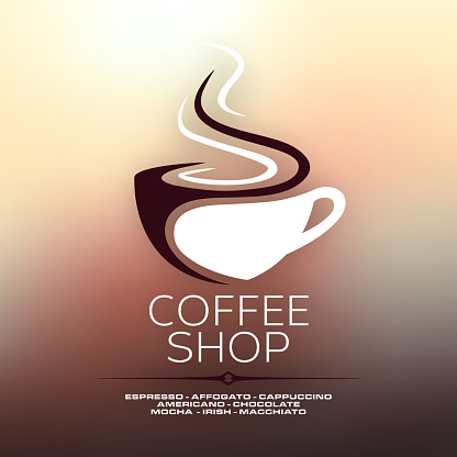 coffee cup concept design clipart