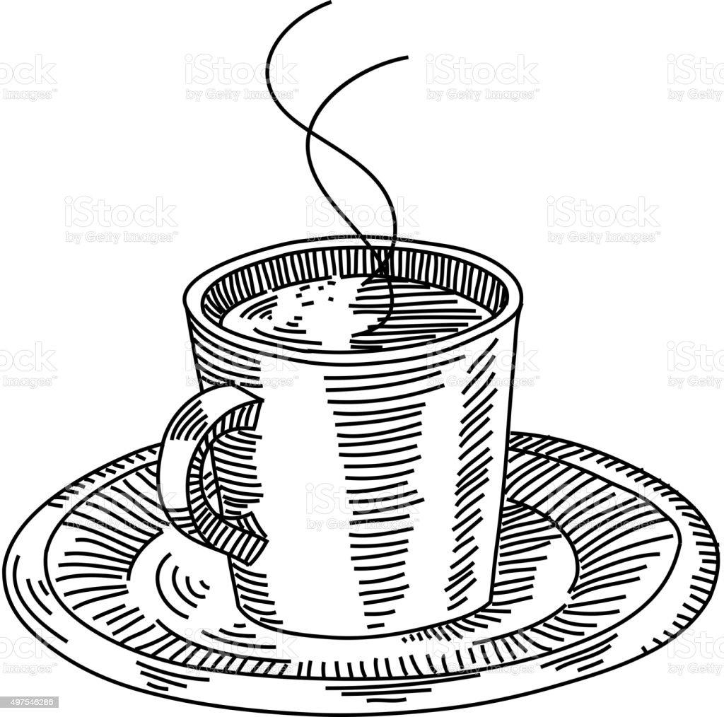 Tazza Di Caffè Disegno Immagini Vettoriali Stock E Altre Immagini